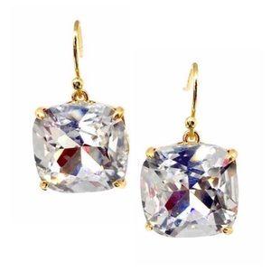 TORY BURCH • Tory-Set Crystal Stone Drop Earrings